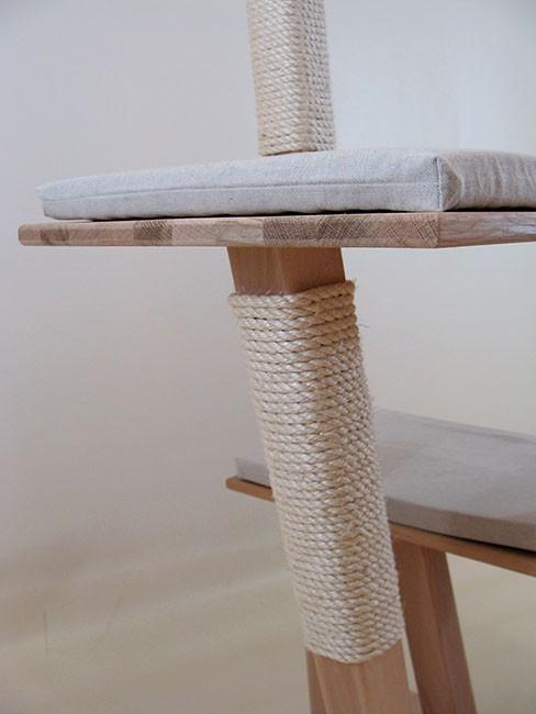 Arbre à chat design en bois 'Balsamine'